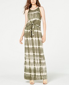 Juniors' Tie-Dye Maxi Dress