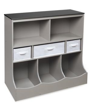 Badger Basket Combo Bin Storage Unit With Three Baskets