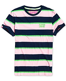 Superdry Men's Stacked Skate Lux Stripe T-Shirt