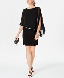 MSK Overlay Dress