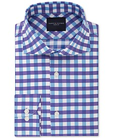 Men's Slim-Fit Non-Iron THFlex Supima® Stretch Bold Check Dress Shirt