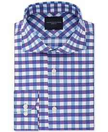 Men's Slim-Fit Non-Iron THFlex Supima® Stretch Bold Check Dress Shirt