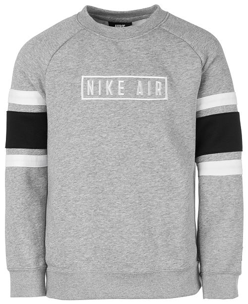 Nike Big Boys Air Logo Sweatshirt