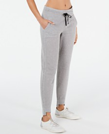 Calvin Klein Performance Mesh Step-Hem Pants