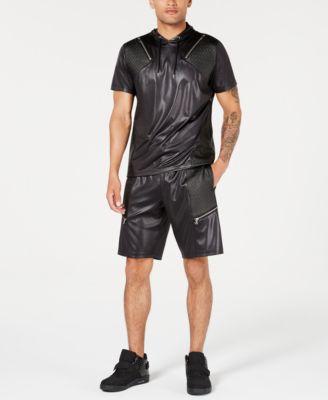 INC Men's Scotty Faux Leather 10 3/4