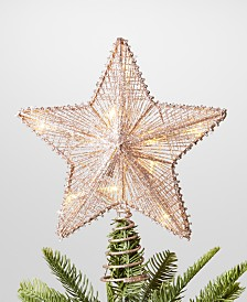 Holiday Lane Dreamland LED Star Topper, Created for Macy's