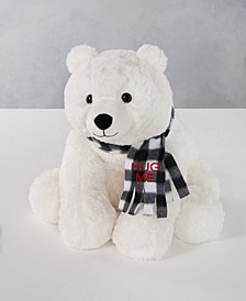 "Christmas Cheer 16""H Polar Bear Plush, Created for Macys"