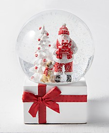 Holiday Lane Christmas Cheer Snowglobe, Created for Macy's