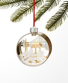 San Francisco LED Skyline Ornament, Created for Macy's