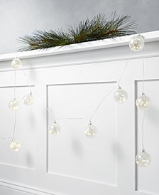 Shine Bright 6' Glass Ball LED Garland, Created for Macy's