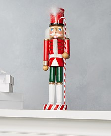 Holiday Lane Candy Cane Nutcracker, Created for Macy's