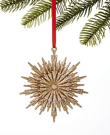 Type Script Snowflake Ornament, Created for Macy's