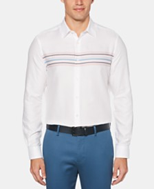 Perry Ellis Men's Striped Shirt