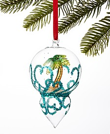 Holiday Lane Florida Palm Tree Dome Ornament, Created for Macy's