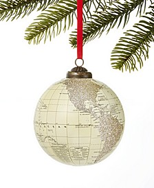 Type Script Globe Ornament, Created for Macy's