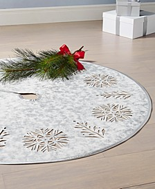 Snowflake Cutout Tree Skirt, Created for Macy's