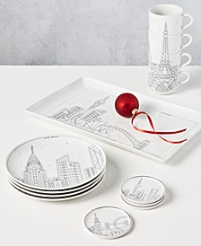 Holiday Cityscape Collection, Created for Macy's