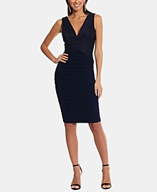 Bandage-Detail Sheath Dress