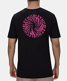 Hurley Men's Premium Wormhole Logo Graphic T-Shirt