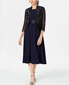 Petite Lace Jacket & A-Line Dress