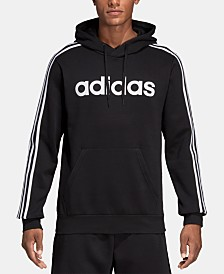 adidas Men's Essentials Fleece Logo Hoodie