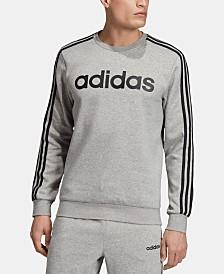 adidas Men's Essentials Fleece Logo Sweatshirt