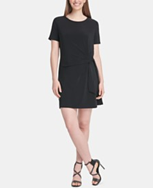 DKNY Knot T-Shirt Dress