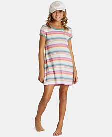 Billabong Big Girls Play Parade Striped Dress