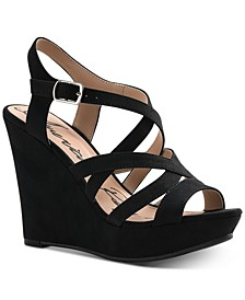 Arielle Wedge Sandals, Created for Macy's