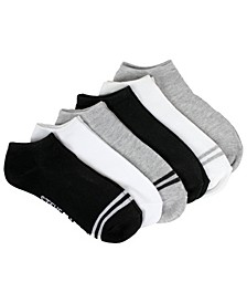 Ladies 6-Pack Low-Cut with Toe Stripe