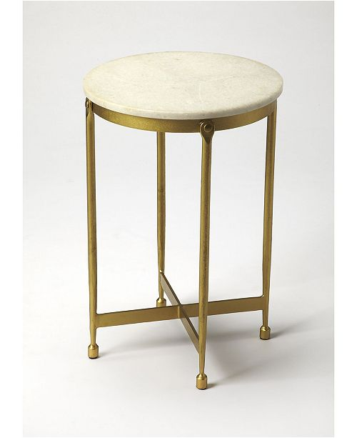 Butler Specialty Butler Claypool Marble End Table