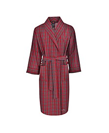 Hanes Men's Big and Tall Woven Shawl Robe