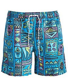 "Men's Chunky Funky Swim 18"" Swim Trunks"