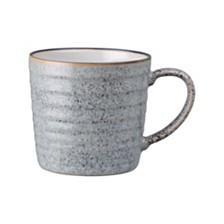 Denby Studio Craft Grey Ridged Mug