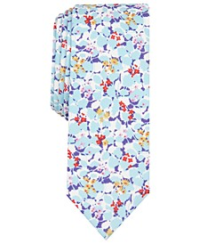 Men's Jones Floral Skinny Tie