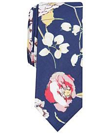 Men's Wallis Floral Skinny Tie