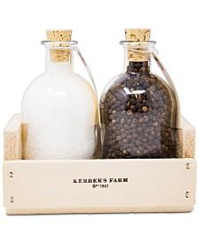 Kerber's Farm Sea Salt & Peppercorns Gift