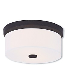 Livex Meridian 2-Light Small Ceiling Mount