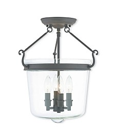 CLOSEOUT! Livex   Rockford 4-Light Ceiling Mount