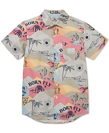 Born Fly Men's Arabian Printed Shirt