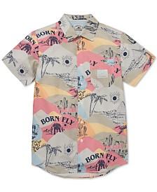 Born Fly Men's Printed Shirt