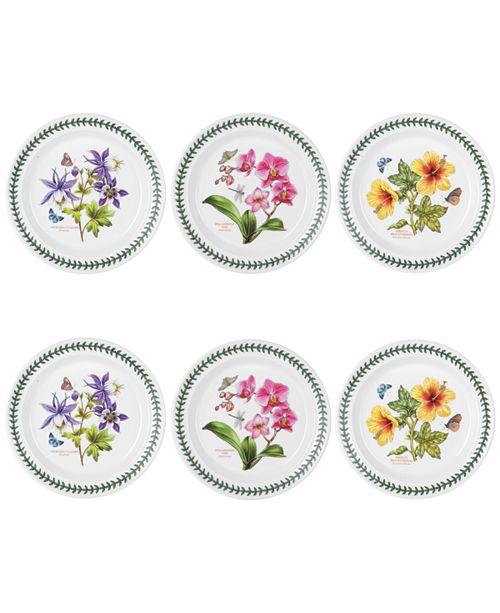 Portmeirion Exotic Botanic Dinner Plate Set/6
