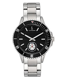 Ellen Degeneres Women's Silver Stainless Steel Bracelet Watch 40mm
