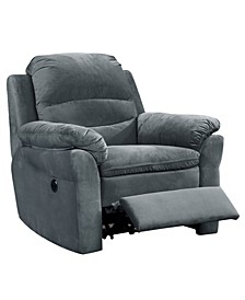 Felix Contemporary Style Fabric Upholstered Living Room Electric Recliner Power Chair