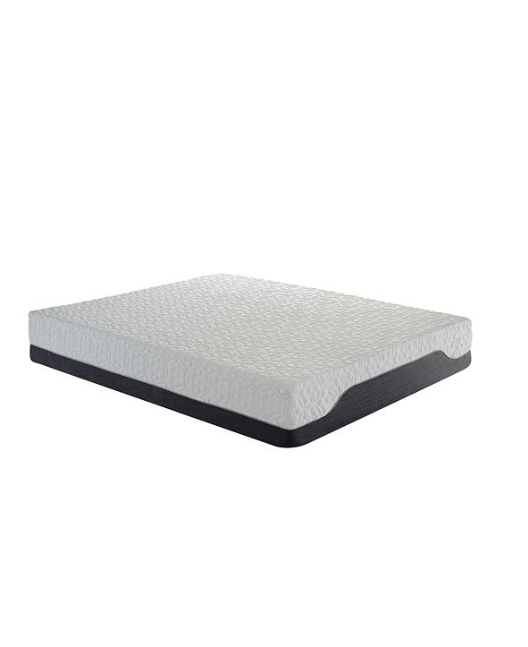 Ac Pacific Hybrid Ultimate Maximum Comfort Deluxe Plush Pocketed Coil Mattress with Cool Gel Memory Foam, Queen
