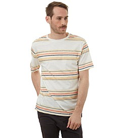 Striped Short Sleeve Crew Neck Tee