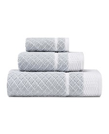 Vintage Trellis 3-Pc. Towel Set
