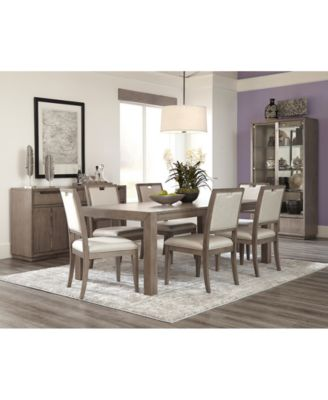 Melbourne Dining Furniture, 5-Pc. Set (Expandable Table & 4 Side Chairs)