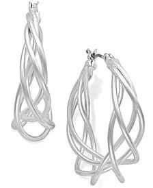 Spiral Hoop Earrings