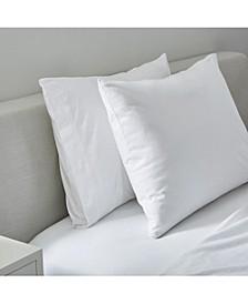 Slub Jersey Solid Sheet Standard  Pillowcase Pair